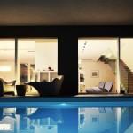Finestra scorrevole piscina