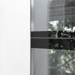 infisso in vetro temperato