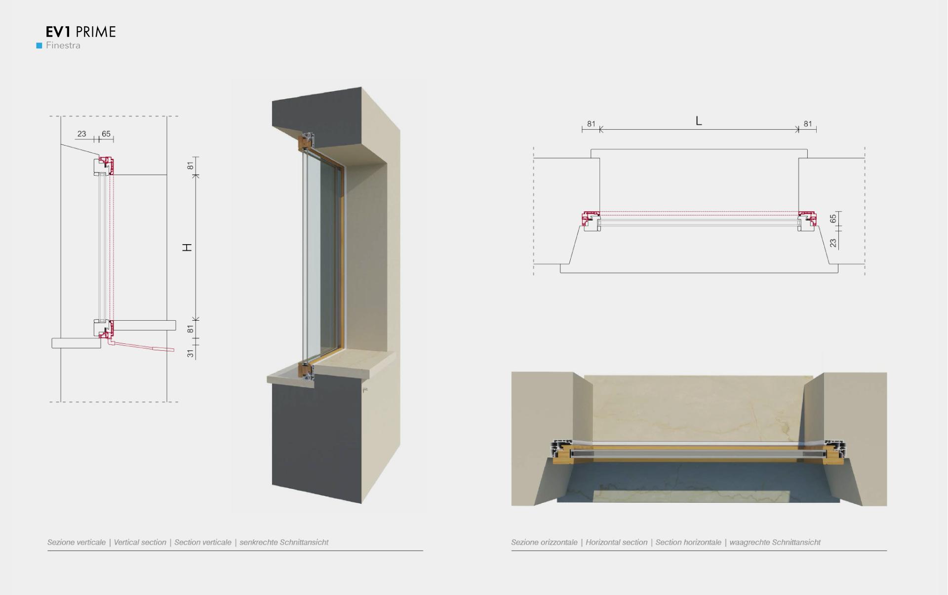 Serramenti filo muro e vetrate scorrevoli - Aprire finestra muro esterno ...